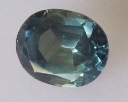 Australian Oval Greenish/Blue Sapphire, 1.41cts