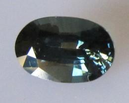 1.06cts Australian Oval Greenish/Blue Sapphire