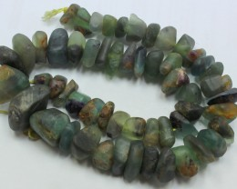 715CTS-1 STRAND FLUORITE 18 X 18 X 11MM BEADS 15 INCH +CLASP