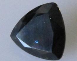 Australian Trillion Shape Blue Sapphire, 1.41cts