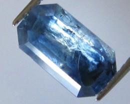 Madagascan Emerald Cut Blue Sapphire, 2.00cts
