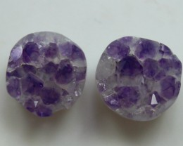 11.50CT PAIR OF QUALITY DRUSSY PERFECT FOR EARRINGS