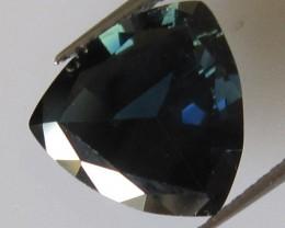 Australian Blue Trillion Cut Blue Sapphire, 3.26cts