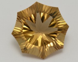 NEW  IDAR OBERSTEIN 'ASPEN' cut CHAMPAGNE QUARTZ 6.05ct