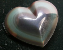 27.80 CTS  RAINBOW OBSIDIAN HEARTS -IRIDESCENCENT [MGW2365 ]