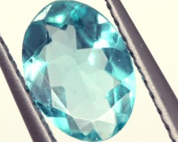BLUE ZIRCON FACETED STONE 1.50 CTS PG-844