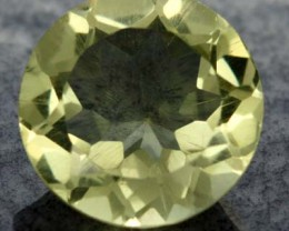 VS LEMON QUARTZ ROUND CUT   5.60 CTS [S611 ]