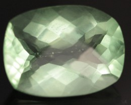 GEM GRADE FLUORITE FROM BRAZIL  FANCY CUT 14.10  CTS [S681 ]