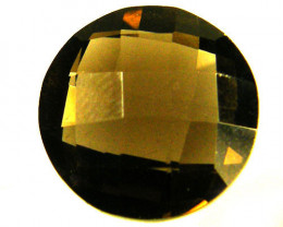 VS CHECKERBOARD  CUT SMOKY QUARTZ  5.80 CTS [S691 ]