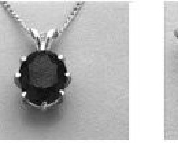 14x10mm Oval Deep Cut Pre-Notched Pendant Setting in SS