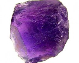 AMETHYST NATURAL ROUGH 15.75 CTS TBG-2048