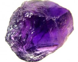 AMETHYST NATURAL ROUGH 16.65 CTS TBG-2047