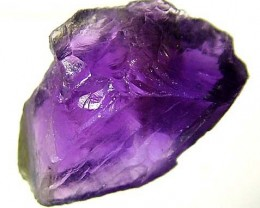 AMETHYST NATURAL ROUGH 13.80 CTS TBG-2035