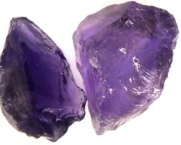 28 CTS AMETHYST NATURAL ROUGH  LG-871