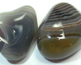 STRIPED BOTSWANA AGATE  55 CTS   [MGW895 ]