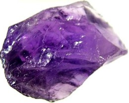 6.55 CTS  AMETHYST NATURAL ROUGH FN 907 (LO-GR)