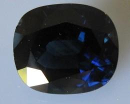 8.66cts Australian Blue Cushion Shape Sapphire