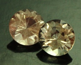 1.01 CTS CERTIFIED OREGON SUNSTONE PAIR [LBO44]