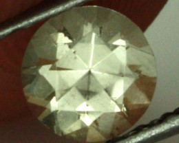 0.43 CTS CERTIFIED OREGON SUNSTONE - TRANSPARENT [LBY60]