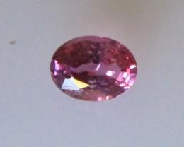Beautiful Hot Pink Tourmaline Oval , 0.35cts