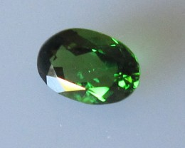 Chrome Tourmaline Oval, 0.47cts