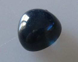 2.16cts Australian Blue Sapphire Trillion Cabochon