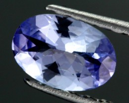 0.57 CTS CERTIFIED VVS TANZANITE STONE - WELL CUT [ZST129]