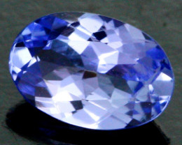 0.49 CTS CERTIFIED VVS TANZANITE STONE - WELL CUT [ZST138]