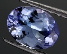 0.88 CTS CERTIFIED VVS TANZANITE STONE - WELL CUT [ZST164]