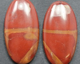39.40 CTS NOREENA JASPER PAIR PERFECT FOR EARRINGS