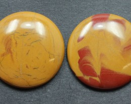 29.60 CTS NOREENA JASPER PAIR PERFECT FOR EARRINGS