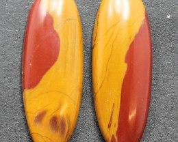15.90 CTS NOREENA JASPER PAIR PERFECT FOR EARRINGS