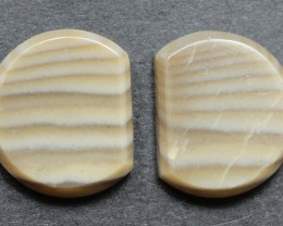 15.75 CTS IMPERIAL JASPER PAIR PERFECT FOR EARRINGS