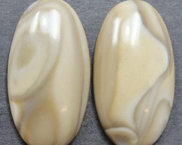 29.00 CTS IMPERIAL JASPER PAIR PERFECT FOR EARRINGS