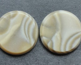 14.20 CTS IMPERIAL JASPER PAIR PERFECT FOR EARRINGS