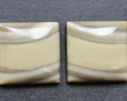 20.80 CTS IMPERIAL JASPER PAIR PERFECT FOR EARRINGS