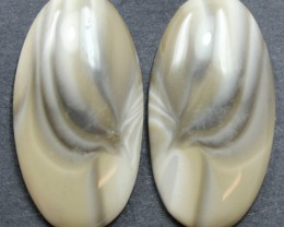 36.55 CTS IMPERIAL JASPER PAIR PERFECT FOR EARRINGS