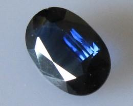 1.67cts Australian Oval Blue Sapphire