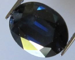 Australian Oval Blue Sapphire, 4.30cts