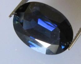Australian Oval Blue Sapphire, 6.22cts