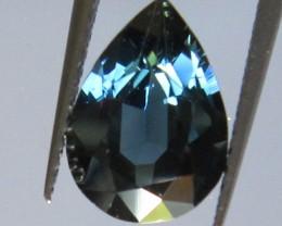 Australian Pear Shape Blue Sapphire, 2.17cts