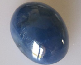 Australian Oval Cabochon Blue Sapphire, 7.49cts