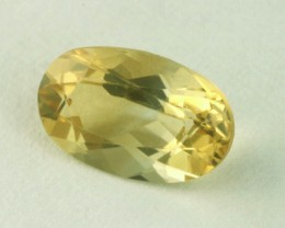 0.75ct WONDERFUL BRAZILIAN CITRINE GEM FINE OVAL FACET CUT