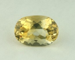 2.30ct WONDERFUL BRAZILIAN CITRINE GEM FINE OVAL FACET CUT