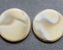 16.40 CTS IMPERIAL JASPER PAIR PERFECT FOR EARRINGS