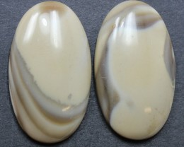 36.05 CTS IMPERIAL JASPER PAIR PERFECT FOR EARRINGS