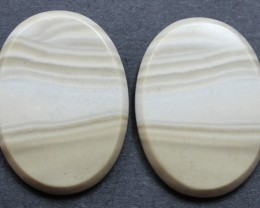32.75 CTS IMPERIAL JASPER PAIR PERFECT FOR EARRINGS