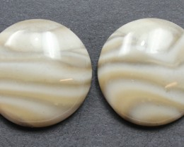 25.30 CTS IMPERIAL JASPER PAIR PERFECT FOR EARRINGS