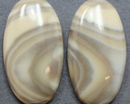 38.00 CTS IMPERIAL JASPER PAIR PERFECT FOR EARRINGS