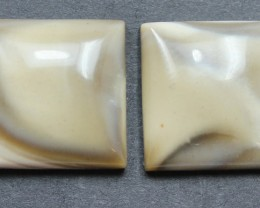 30.65 CTS IMPERIAL JASPER PAIR PERFECT FOR EARRINGS
